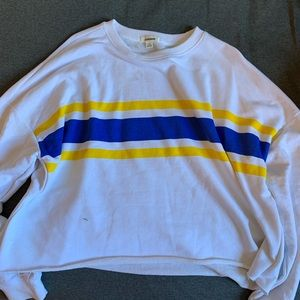garage cropped sweater
